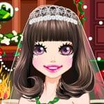 Christmas brides dress up