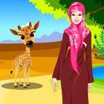 Warda at the zoo