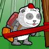 Jeux Panda avec jetpack