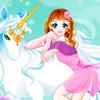 Jeux Fille et licorne