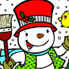 Winter Coloring 3 Games