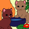 Online coloring cats Games