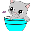 Online Coloring Cat Games