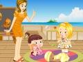 أطفال صغار في العطلة