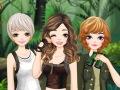 فتيات في الغابة