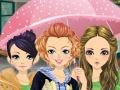 فتيات تحت المطر