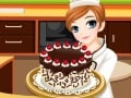 Tessa membuat kue black forest