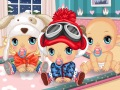 Babys im Winter