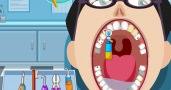 Happy dentist