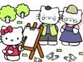 Colorear Hello Kitty