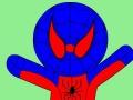 لوحة تلوين الرجل العنكبوت