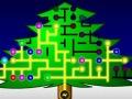 شجرة عيد الميلاد بالإنارة