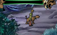 Ajuda o Scooby e o Shaggy a passar pela Caverna Arrepiante!