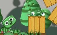 Este pequeno canh�o verde gostaria de se divertir a jogar dardos, e tenta marcar um olho de boi. Isto n�o � f�cil, pois h� todo o tipo de obst�culos pelo meio. Com alguma habilidade e trabalho cerebral, vais certamente ter sucesso, assim faz o teu melhor!