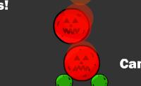 Tenta eliminar todas as abóboras podres. Podes fazê-lo clicando nas próprias abóboras, ou nas abóboras à sua volta. Estas têm qualidades especiais: as pretas são muito pesadas e as vermelhas ardem espontaneamente. Primeiro pensa na ordem com que lhes clicas, pois isso influencia e determina o resto do nível.