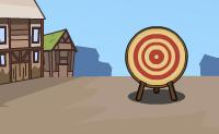 Tenta fazer com que este arqueiro medieval atira em todos os corações no alvo ou que chegue o mais próximo possível. Cuidado com a direcção do vento e com a gravidade: isto influencia as suas setas. É contigo assegurar que a sua seta vai na direcção correcta. Move assim a pequena bola verde para o alvo e assegura-te de que ela fica lá!