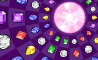 Move as linhas ou colunas cheias de jóias de forma a que tenhas séries de três pedras idênticas. Estas pedras então desaparecerão. Continua até que a pedra no meio esteja completamente cheia de cor!