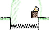 És uma caixa que tem apenas um objectivo na vida: salvar a humanidade e o seu amigo Nabbles em particular! Assim move-te para lá, onde precisas de ajudar o Nabbles. Por vezes terás de pensar cuidadosamente como fazer isso, pois antes que dês conta, o Nabbles cai na ravina com aqueles terríveis picos.