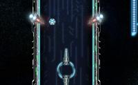 Esta nave espacial precisa de energia. É por isso que parte para o espaço para apanhar bolas de energia. Os pontos têm de atingir as bolas de energia, e também tens de evitar que a nave espacial bata nas paredes do túnel! Roda a tempo, para que ele apanhe o máximo possível de energia, e não sofra nenhum dano.