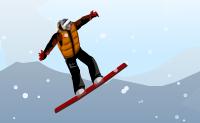 Faz o teu snowboarder surfar pela encosta sem ter nenhum acidente, e deixa-o executar tantos truques fixes quanto possível!