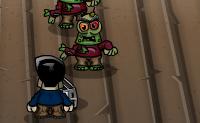 E agora estás farto: se isto continua assim, os zombies roubam toda a tua mobília. Abate-os a tempo, para que eles fiquem longe das tuas coisas!