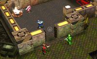 Xenosquad é um jogo de combate baseado em turnos onde os robots lutam contra todo o tipo de monstros extraterrestres. Cada monstro tem as suas próprias virtudes e fraquezas, assim usa-as inteligentemente! Podes mover o teu robot nas superfícies verdes. Podes atacar nas superfícies amarelas. Podes atacar os inimigos que ficam na superfície vermelha clicando neles. Algumas caixas contém pontos, que podes usar para actualizar as tuas armas entre dois níveis. Outras caixas recarregam completamente as tuas munições durante a luta. Mantém um olho nos valores do teu robot na barra de estados no fundo à direita!