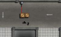 Tempo de fugir, e de libertar os teus amigos prisioneiros também! Vai em busca da chave que abre a barreira. Cuidado para não bateres em nenhum raio laser! Em cada nível tens de guiar um mínimo de colegas para a saída.