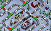 Tenta deixar o Polar Express andar bem nos carris. Muda bem as linhas e apanha os vagões que encontras pelo caminho. Tem atenção aos obstáculos e não deixes que o comboio choque com os seus próprios vagões!
