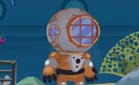 Ajudas este mergulhador a resolver todos os mistérios do fundo do mar no Triângulo das Bermudas? É um jogo de apontar e clicar, no qual precisas de clicar nos itens pela ordem correcta. É assim que as combinas e que o mergulhador as pode usar mais tarde no jogo. Diverte-te imenso no fundo do mar!