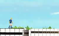 Chuta a bola de telhado em telhado neste jogo de futebol divertido. Os teus jogadores estão por cima dos arranha-céus desta grande cidade, e em cada nível cada jogador tem de ter a bola pelo menos 1x em seu poder. Tenta tocar nas estrelas e balões, e faz actos heróicos!
