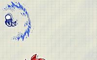 Este boneco animado corre num desenho cheio de obstáculos perigosos. Estes podem ser retirados do caminho atirando neles, mas ele também os pode evitar. Ao evitá-los não ganha pontos mas, como é óbvio, o boneco continua vivo. Fazes com que o boneco percorra uma distância o maior possível e que retire o maior número de obstáculos possível do caminho?
