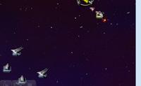 És o capitão da frota do espaço azul e é a tua missão destruir as naves espaciais vermelhas inimigas! Coloca as tuas estações estrategicamente para te defenderes contra ataques inimigos e assegura que a tua nave espacial se mantém a salvo!