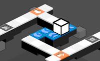 Cubo Mayhem é um divertido jogo de habilidade com 8 níveis, onde tens de guiar um cubo do início ao fim. Há todo o tipo de ângulos no caminho que tem de percorrer, e tens de o fazer mover-se na direcção correcta a tempo, senão ele cai. Podes fazer o cubo chegar ao seu destino final em cada nível?