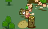 O Billy the Kid envolve-se num combate contra os macacos extraterrestres! Junta-te ao combate neste jogo do tipo defesa da torre onde lidas soldados e armas no ataque aos macacos mutantes que estão a invadir a tua vila Indiana. Combina os materiais que apanhaste para construir armas e coloca todas as unidades de defesa estrategicamente para eliminar o máximo de inimigos possível.