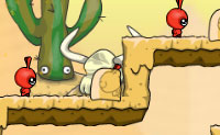 Os Dibbles estão de volta outra vez! Desta vez eles estão numa aventura no deserto, com as pirâmides e os faraós. Neste episódio o Rei Dibble tem de passar de uma pirâmide para a outra. No seu caminho, infelizmente ele depara-se com todo o tipo de obstáculos que mesmo um poderoso Rei não consegue passar. Talvez os seus súbditos o possam ajudar? Os Dibbles constroem escadas, pontes e saltam pedras em qualquer lugar. Ajudas o rei a chegar ao outro lado em segurança? Tenta manter o máximo possível de Dibbles vivos, para que eles possam chegar ao outro lado também!