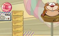 O hamster esfomeado tem sempre vontade de comer doces, não importa o quão cheios estejam os seus bolsos e a sua barriga! Podes ajudá-lo a recolher os doces? Usa a 'pata' (ícone cinzento com uma marca de pata) para empurrar os doces na direcção do hamster. Às vezes, existem barreiras que a pata não pode passar, mas o doce pode, às vezes é o contrário. Boa sorte!