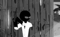 Este é o segundo episódio da emocionante série Assalto dos Sift Heads. Podes ajudar o Vinnie eliminar seus inimigos? Atira ou abate-os e certifica-te de que permaneces vivo! Quanto mais inimigos o Vinnie eliminar, mais dinheiro ele ganha para ampliar a sua colecção de armas. No início do jogo o Vinnie está numa pequena casa de madeira. Clica sobre a porta de entrada para iniciar o jogo.