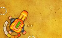 Atira as pequenos canhões móveis que atacam o teu grande canhão estacionário. Felizmente, podes pedir a ajuda, por exemplo, de um segundo canhão ou de um reactor. Boa sorte a sobreviver a todas as ondas!