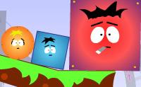 O objectivo deste jogo engra�ado � fazer desaparecer todas as esferas vermelhas do ecr�, sem que o cubo verde (ou esfera) desapare�a. Fazes isto deixando transformar cubos em esferas ou vice-versa, e deix�-los mudar de novo  no momento certo conforme seja necess�rio. Podes retirar cubos castanhos clicando neles. Podes fazer desaparecer os cubos com riscas tocando no bot�o vermelho.