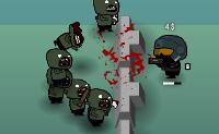 Os zombies continuam a chegar! Eles não vêm às dezenas, mas talvez às centenas e tens de detê-los a todos. Derruba-os e não os deixes forçar o seu caminho para a tua fortaleza.