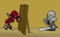 Prova que és capaz de muito mais do que o Robin dos Bosques! Cumpre todas as missões para adicionar alguns itens roubados à tua colecção de armas, capacetes, tesouros e troféus. Podes também ver as missões no topo do ecrã. Anda através da cidade deserta e apanha tantos tesouros quanto possível. Cuidado com os obstáculos, buracos no chão e claro os guardas armados. Que divertido jogo de aventura!