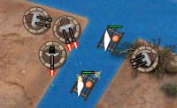 Uma frota inteira de navios está a vir para o teu país: coloca defesas em pontos estratégicos e livra-te de todos os navios a tempo. Não deixes que o inimigo conquiste a tua terra neste jogo de Defensa da Torre!