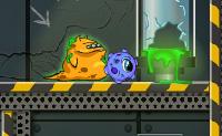 Lentamente um pequeno monstro verde transforma-se noutro tipo de criatura. Por isso, terás que passar um longo caminho cheio de perigos. Pode ajudá-lo? Cuidado com os fios vivos e os limos verde fluorescente.