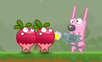 Os OGM (organismos geneticamente modificados) estão a chegar em força e querem atacar-te! Bate-lhes e  torna esses malvados vegetais literalmente em polpa, de modo a que estejas novamente seguro!