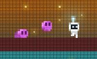 O Appy é um alienígena que aterrou num planeta sem saber como. Ele vai e pesquisa, e encontra 'bloobies', amigáveis criaturas cor-de-rosa, e também itens úteis, como um foguete. Junta-te a ele na sua aventura neste divertido jogo de plataformas!