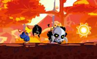 O Outono está de volta novamente e os fantasmas são mais malvado do que nunca. Podes ajudar o Ninja a fugir das suas más intenções, e a eliminar o maior número possível deles? Pula em cima deles para matá-los e recolhe o maior número possível de girassóis.