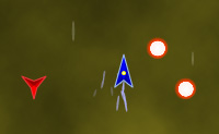 Este é um jogo do tipo Raiden-X em que o teu avião de combate dispara automaticamente. Quando és bombardeado, o teu poder vai diminuir: quando este chegar a zero, morres.