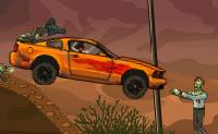 O teu helicóptero avariou no meio do deserto de todos os lugares, numa região repleta de zombies. Decides continuar a tua viagem de carro, embora saibas que vai ser um empreendimento arriscado: no deserto estás cercado por zombies. No início da tua jornada, não tens muitas possibilidades, mas quanto mais vezes fizeres o teu melhor, mais combustível, armas e dispositivos técnicos vais pode comprar para o teu carro. Isso vai-te levar cada vez mais perto do teu destino!