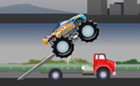 Destrua tudo o que lhe aparecer à frente com o seu poderoso camião