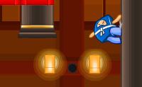 O Ninja minúsculo, chefe da Ninja Lda., perdeu um rolo de papel extremamente importante. Podes ajudá-lo a encontrá-lo de volta? Felizmente esse tipo é ágil, e ele pode saltar muito alto, portanto, com a tua ajuda, ele certamente vai ter sucesso!